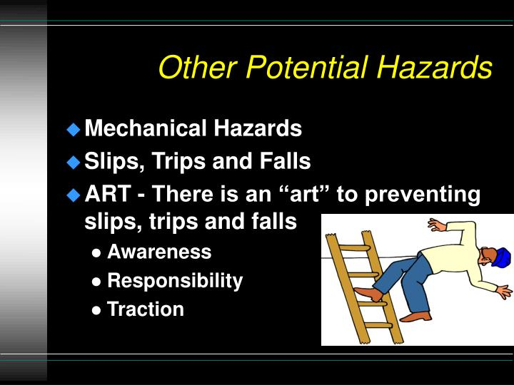 Other Potential Hazards