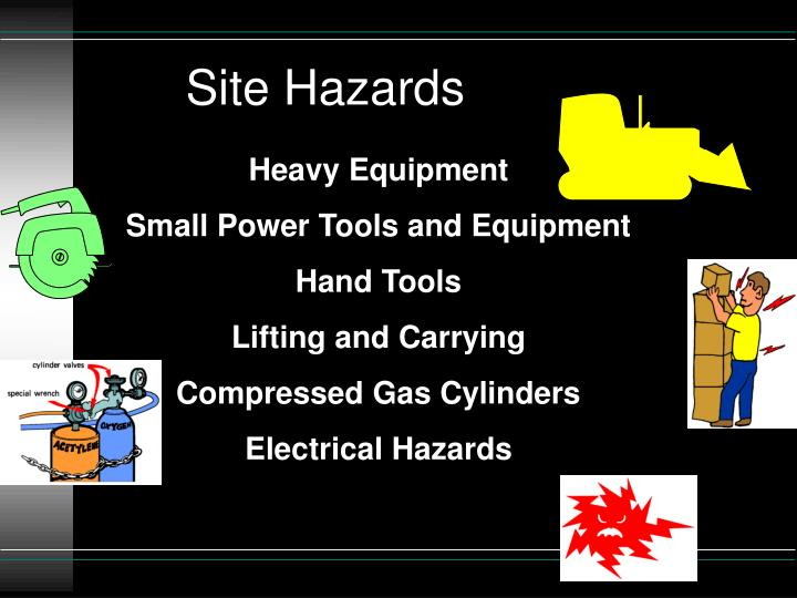 Site Hazards