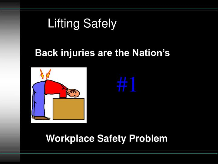 Lifting Safely