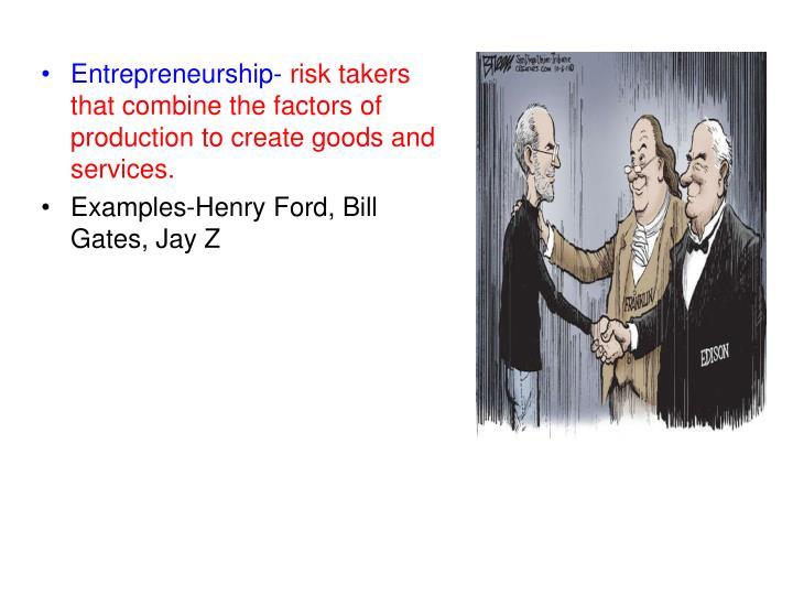 Entrepreneurship-