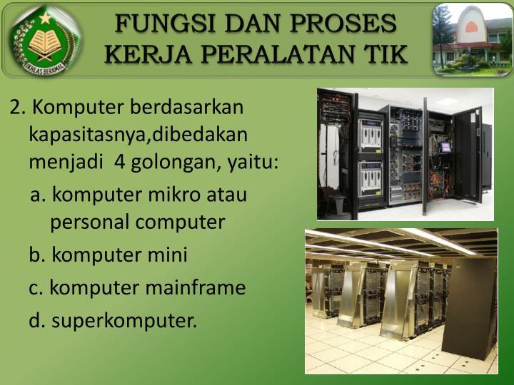 2. Komputer