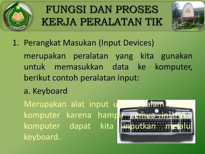 Perangkat Masukan (Input Devices)