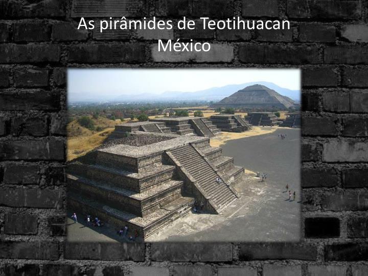 As pirâmides de