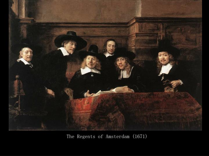 The Regents of Amsterdam (1671)