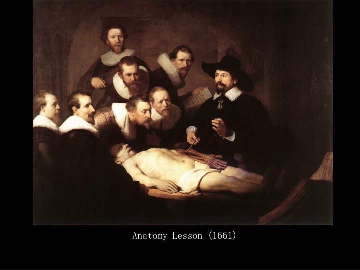 Anatomy Lesson (1661)