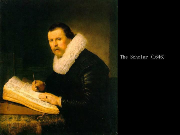 The Scholar (1646)