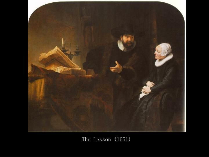 The Lesson (1651)