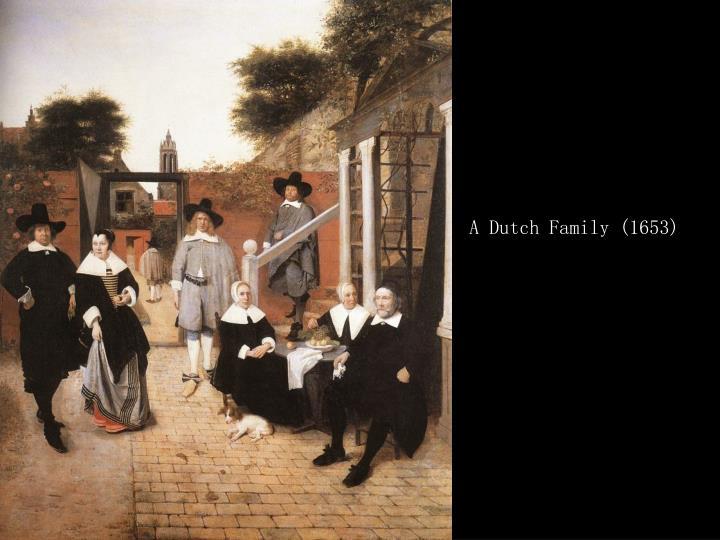 A Dutch Family (1653)
