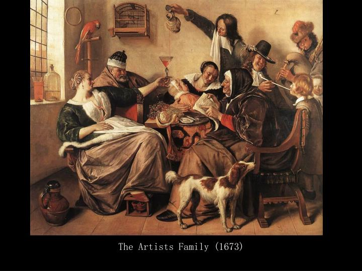 The Artists Family (1673)