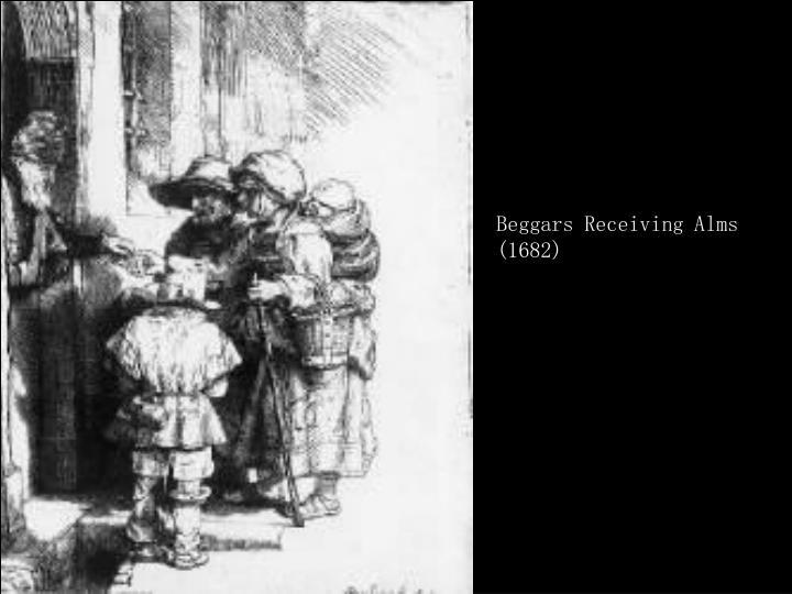 Beggars Receiving Alms