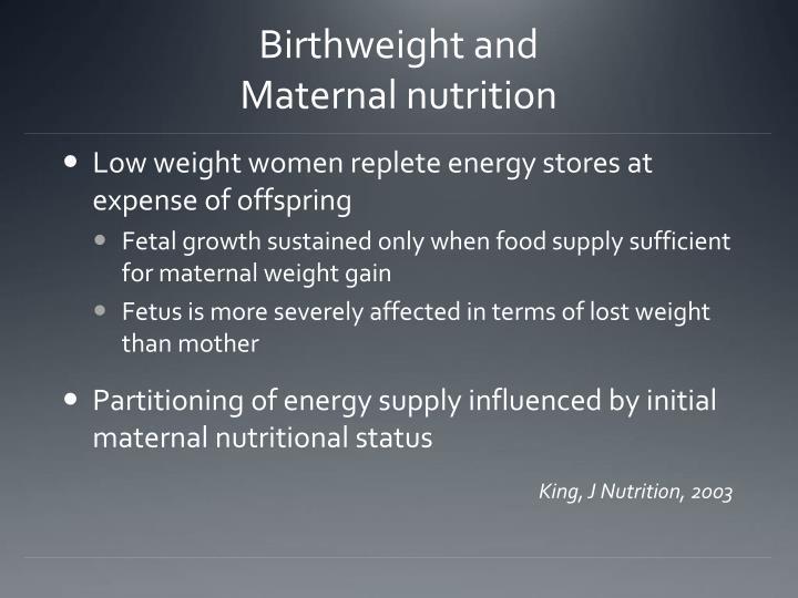 Birthweight