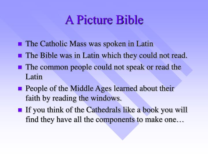 A Picture Bible