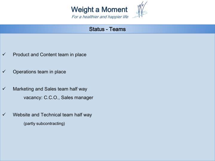 Status - Teams