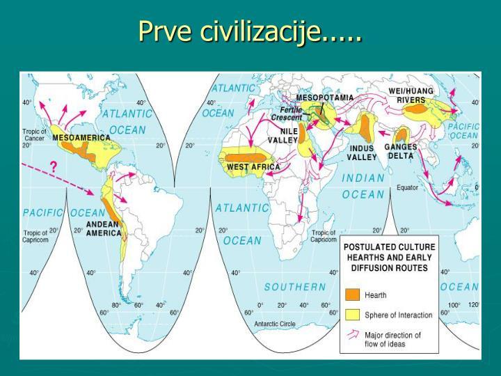 Prve civilizacije.....