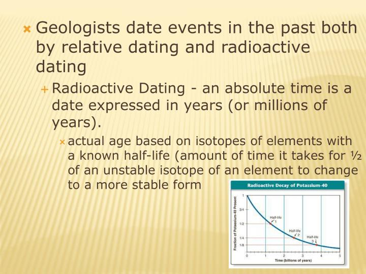 radiometric dating ppt