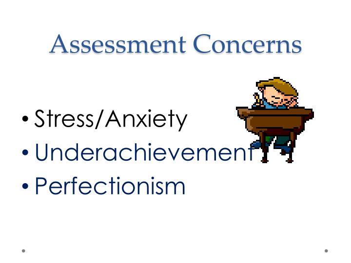 Assessment Concerns