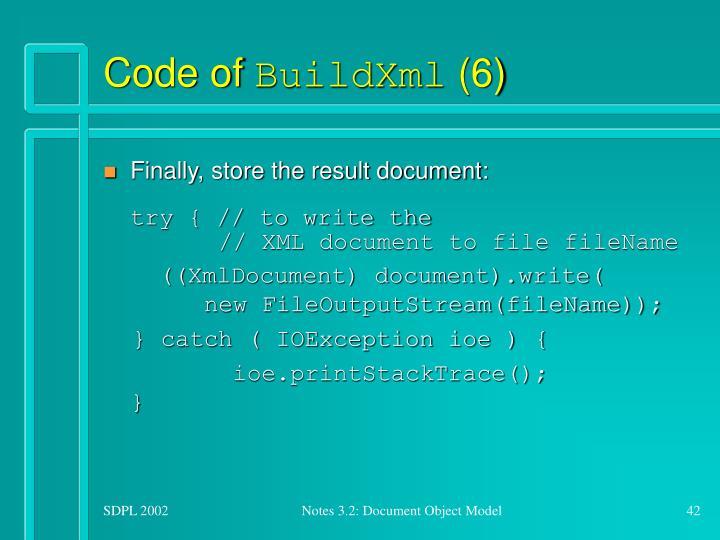 Code of