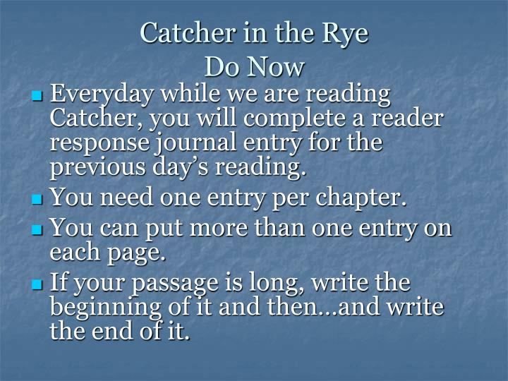 "catcher in the rye chapter summaries essay Theme of isolation in catcher in the rye english literature essay  ""the catcher in the rye"",  take a look at what our essay writing service can do for you."