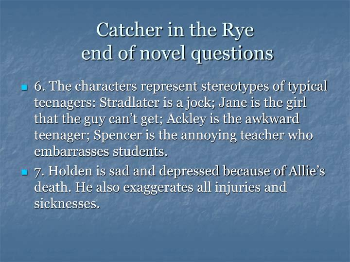 catcher tears and holden Chapters 9-12 9 arriving at penn station in new york, holden considers calling someone he can still see her wiping the tears from the checkerboard holden then starts thinking about his brother d b and remembers a bar he used to take him to holden leaves the hotel.