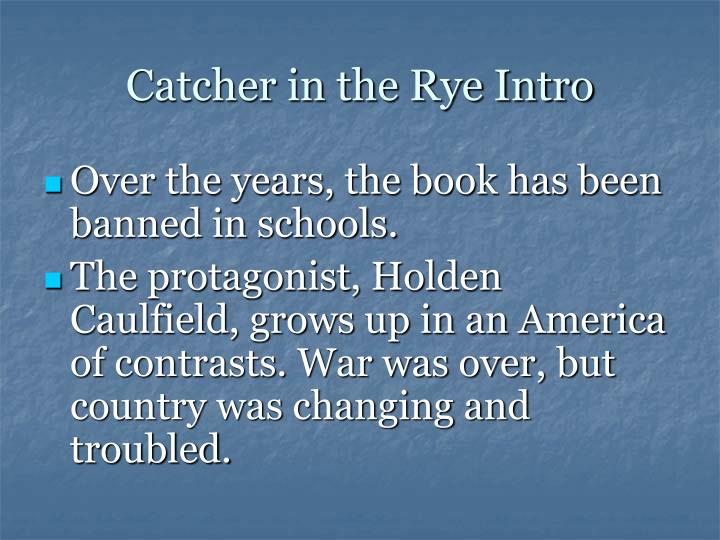 an overview of the novel catcher in the rye by j d salinger Anyone who has read j d salinger's new yorker stories - particularly a perfect day for bananafish, uncle wiggily in connecticut, the laughing man, and for esme - with love and squalor, will not be surprised by the fact that his first novel is full of children.
