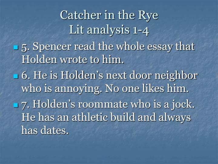 an analysis of main themes in the catcher in the rye by jd salinger The catcher in the rye by j d salinger home / the catcher in the rye analysis while most coming-of-age stories show the main character's movement from.
