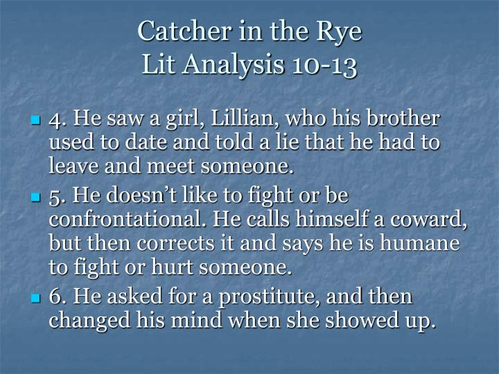 theme essays on the catcher in the rye Theme of isolation in catcher in the rye english literature essay print the catcher in the rye motifs relating to the larger theme of.