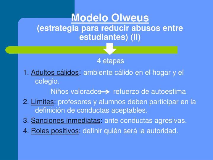 Modelo Olweus