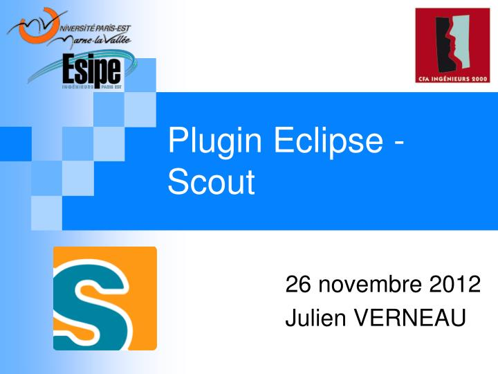 Plugin e clipse scout