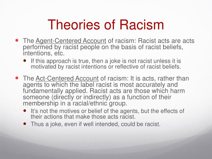 Theories of Racism