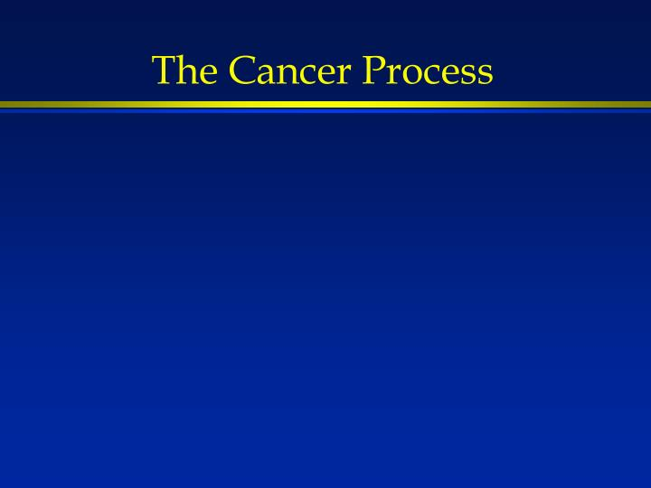 The Cancer Process