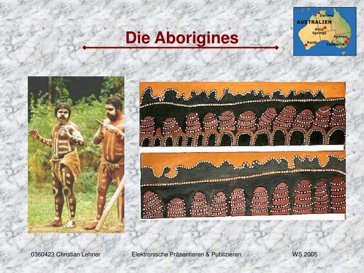 Die Aborigines