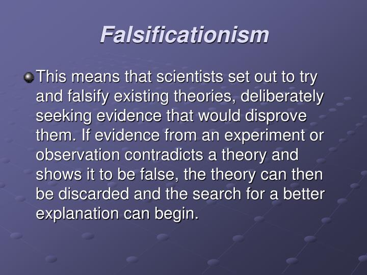 Falsificationism