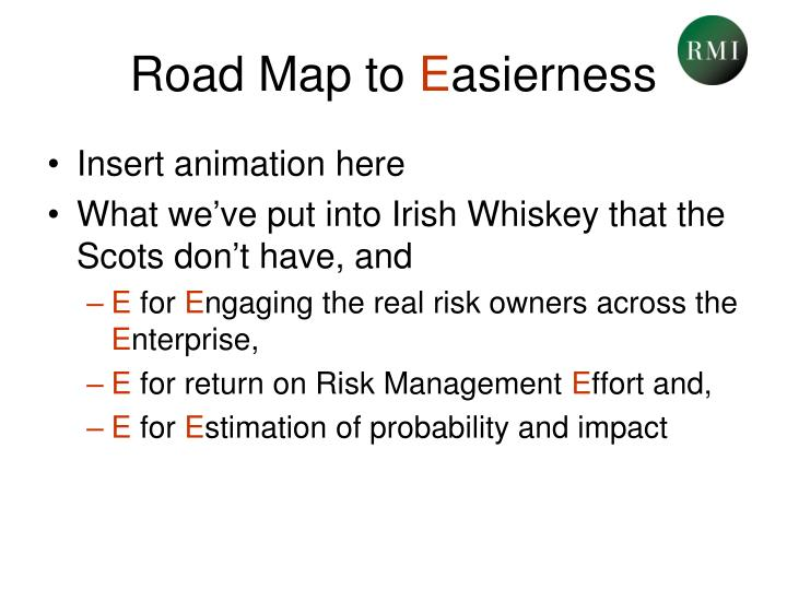 Road Map to
