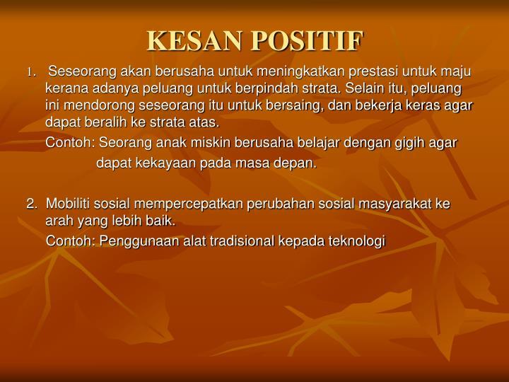 KESAN POSITIF