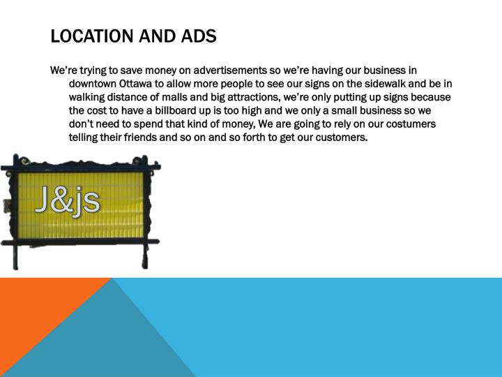 Location and ads