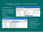 configurando o visual studio5