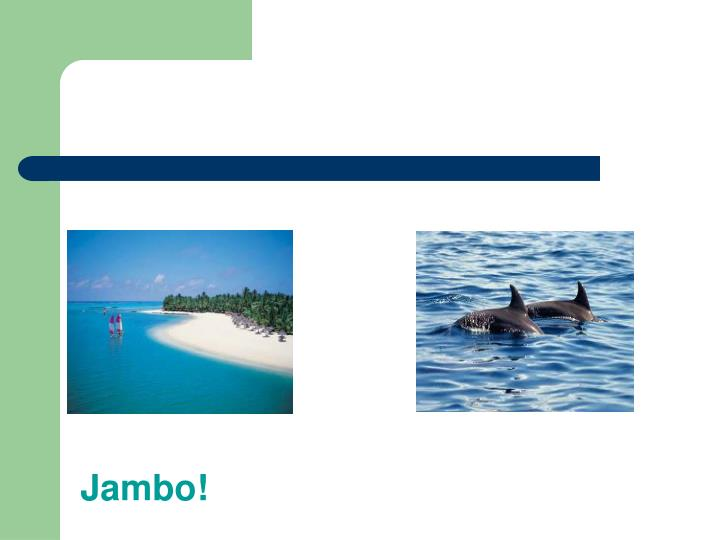 Jambo!
