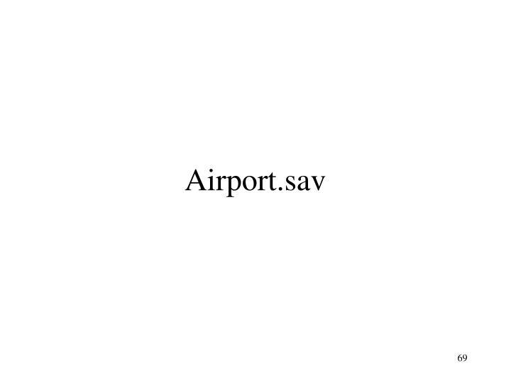 Airport.sav