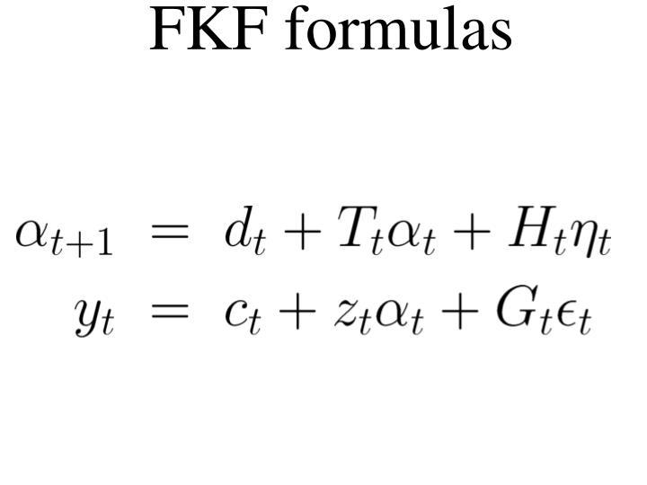 FKF formulas