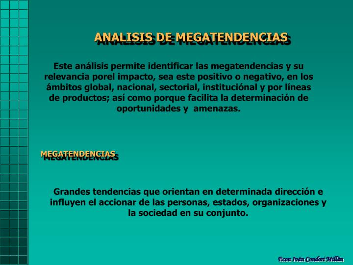 ANALISIS DE MEGATENDENCIAS