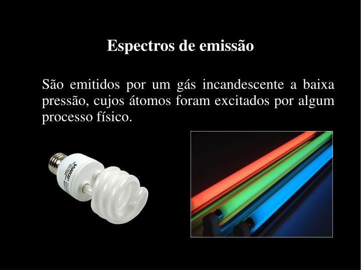 Espectros de emissão