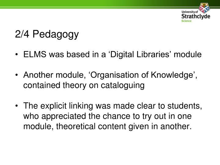 2/4 Pedagogy