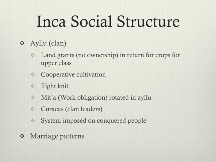 inca social structure in english - photo #23