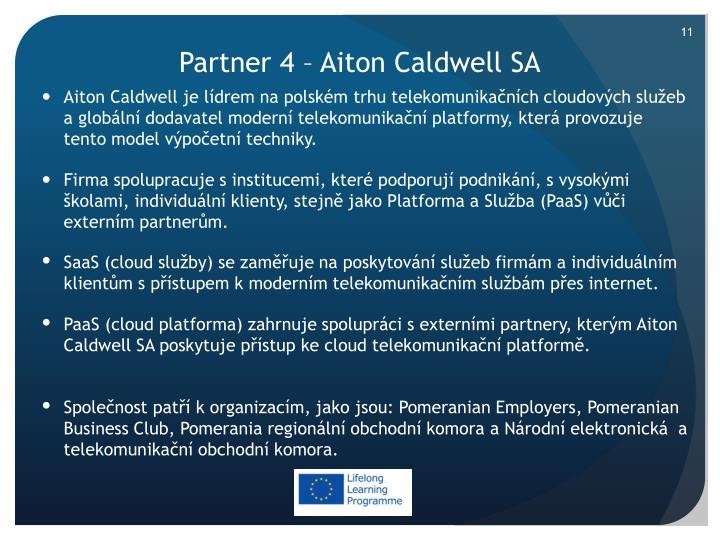 Partner 4 –