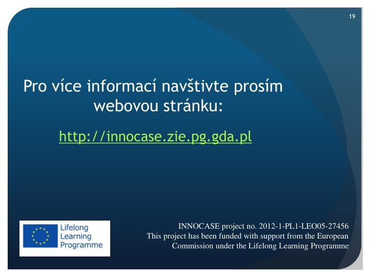 INNOCASE project no. 2012-1-PL1-LEO05-27456