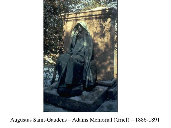 Augustus Saint-Gaudens – Adams Memorial (Grief) – 1886-1891