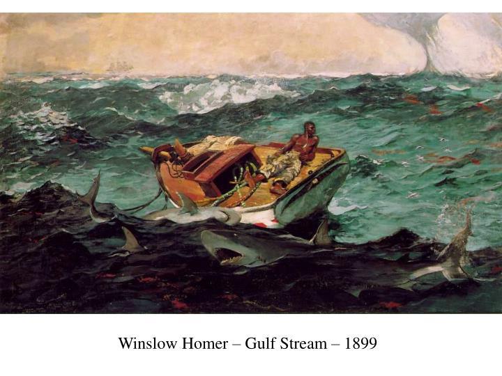 Winslow Homer – Gulf Stream – 1899