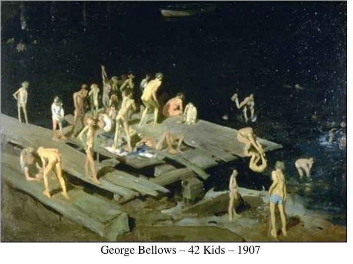 George Bellows – 42 Kids – 1907