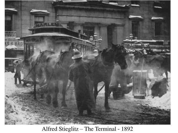 Alfred Stieglitz – The Terminal - 1892