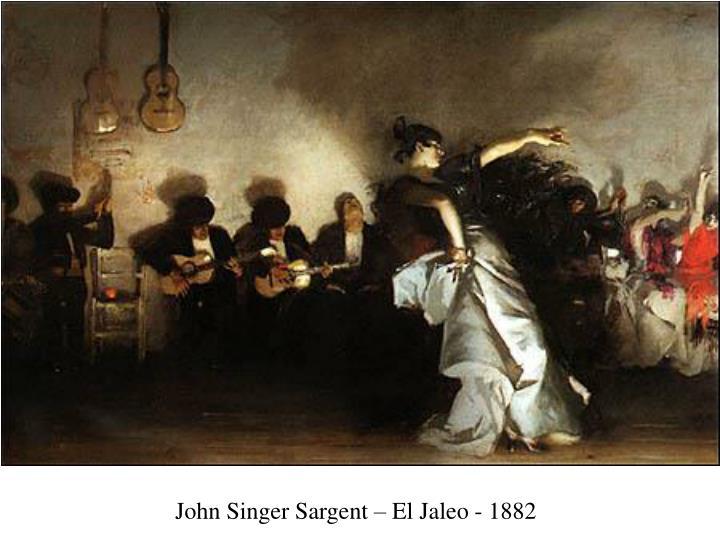 John Singer Sargent – El Jaleo - 1882